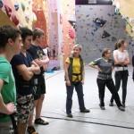 SCRR Jugend im DAV Kletterzentrum Kareth
